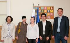 Natalija Svetina, Melanie Lackner, Maja Monrue, DI (FH), M.Sc. Christoph Dorn in M.Sc. Marko Svetina (o.l.p.d.)